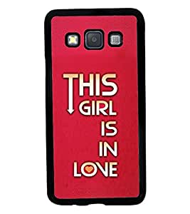 Printvisa 2D Printed Quotes Designer back case cover for Samsung Galaxy A3 A300F- D4617