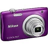 Nikon Coolpix A100 20MP Digital Camera (Purple)