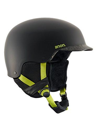 Anon Blitz - Casco de snowboard para hombre, Negro (Cracked Black), S