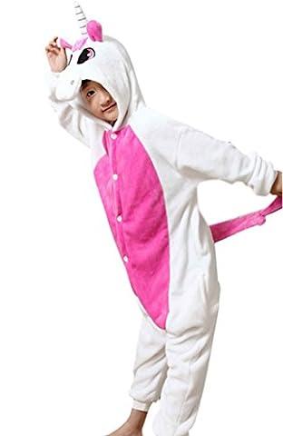 Feoya Enfant Pyjama Combinaison Animaux Une pièce Pyjama Costume à