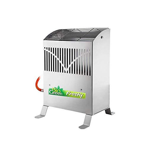 Propan-gas-wand (Bio Green Gasheizung Frosty 4500 W, Silber)
