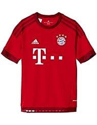 adidas Jungen Fußballtrikot FC Bayern München Heim Replica