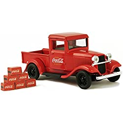 Coca-Cola 443743 1934 Ford Model A Pickup mit 6 Flasche Kartons Spielzeug