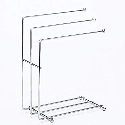 Be&xn Wäscheständer, Stehende küche lumpen Rack Multi-Purpose Desktop-glassholder Geschirrtuch-lagerung-Stand Mit 3 hängenden Handtuchhalter Für küche Bad -Edelstahl (Hängende Geschirrtuch)
