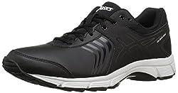 ASICS Womens Gel-Quickwalk 3 Sl Walking Shoe Black/Onyx/White 12 B(M) US
