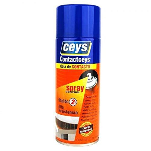 Ceys M51942 - Cola de contacto contactceys spray control 400 ml