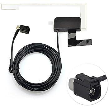 Eightwood 4G LTE Antenne Fakra Adapter Auto Antenne 2dBi 824-960MHz 1710-1990MHz Fakra D Buchse Fakra Verl/ängerung mit 3m 9.8ft f/ür Autotelematik 4G LTE Handy-Booster-System MEHRWEG