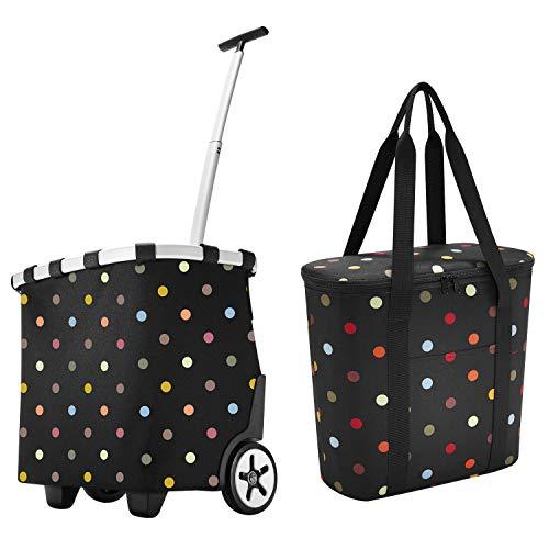 reisenthel carrycruiser dots Einkaufstrolley + reisenthel thermoshopper Kühltasche dots im Set