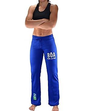 Bõa Capo Eira–Pantalón Mujer Azul, Azul, Small
