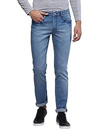 Urbano Fashion Men's Light Blue Stretchable Slim Fit Jeans