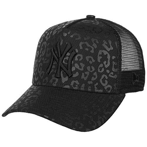 New Era Cappellino Trucker Women´s Leo-Print NY Mesh cap Curved Brim Taglia b4a4320a921e
