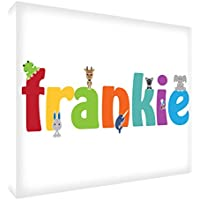 Feel Good Art-Stampa, souvenir lucido/Token, Frankie, piccolo, 26 x 7 x 2 cm