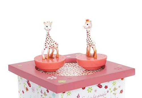 Trousselier T95061 Sophie, die Giraffe, Dreh-Spieluhr - 4