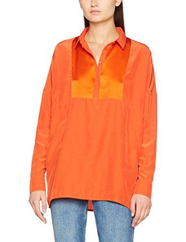 Nümph Cherimoya Blouse, Camicia Donna Orange (Pureed Pumpkin)