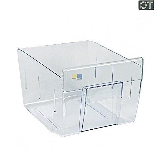 AEG Electrolux Schublade, Gemüsefach, Gemüseschale transparent für Kühlschrank, Kühl-Gefrier-Kombination - 224713924/5, 224713924