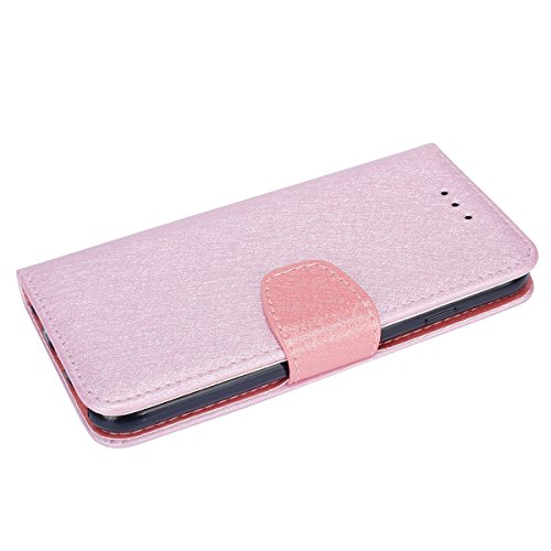 iPhone 6S Hülle,iPhone 6 Schutzhülle,JAWSEU Retro Cool Lanyard/Strap Bookstyle Prägung Tribal Elefant Muster Pu Ledertasche Magnetverschluss Handyhülle Wallet Brieftasche Etui Case Cover mit[Ständerfu Pink