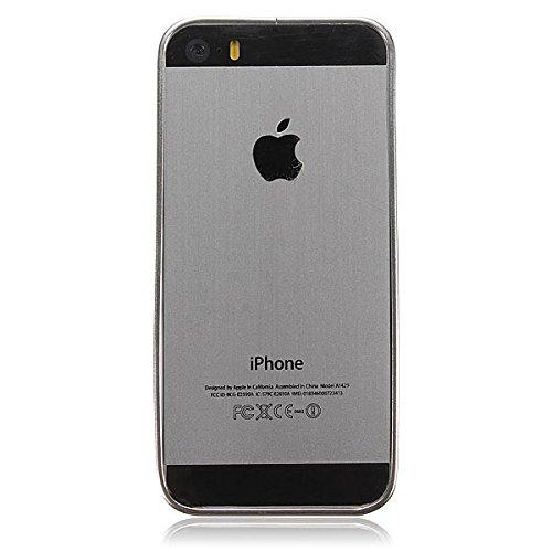 Ultra Slim Cadre Aluminium MŽtal Bumper Case Boucle pour l'iPhone 5 5S rose