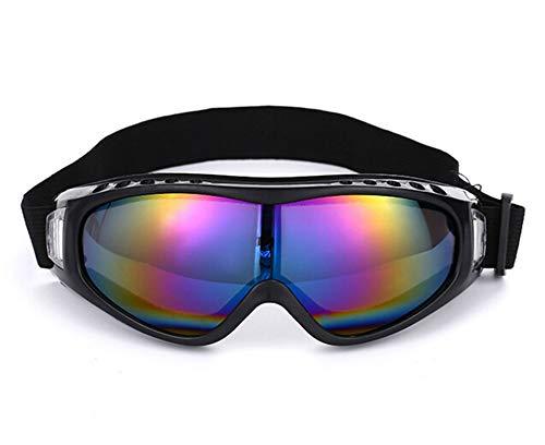 MaxAst Sportbrille Herren Motorrad Brille Selbsttönend Schutzbrille Schießsport Bunten