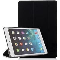 iHarbort® iPad mini 3/ 2/ 1 Hülle - Premium PU Leder Tasche Hülle Etui Schutzhülle Ständer für iPad mini 3/2/1, mit Schlaf / Wach-up-Funktion (iPad mini 3/2/1, schwarz)