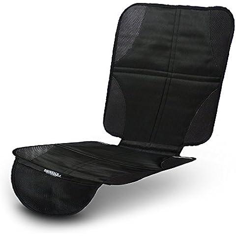 Funda para los asientos del coche y protector de los asientos del coche Sidekick negro - Proteja la tapicería de su coche ante sillitas infantiles, perros y niños, tanto en verano como en