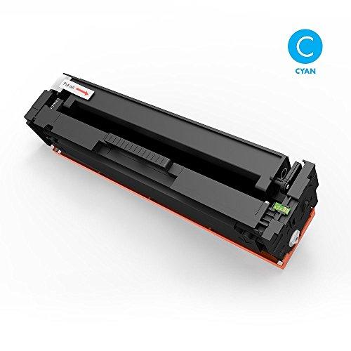 Preisvergleich Produktbild Airby® CF411A HP 411A Toner kompatibel für HP Color LaserJet Pro M452dn M452nw M452dw, MFP M477fdn M477fdw M477fnw, 1 Stücke (Cyan)