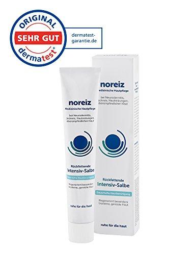 noreiz Rückfettende Intensiv-Salbe · Medizinische Hautpflege bei Neurodermitis, Juckreiz, überempfindlicher Haut, Hautreizungen · mit Wirkstoff Thiocyanat · (50 ml)