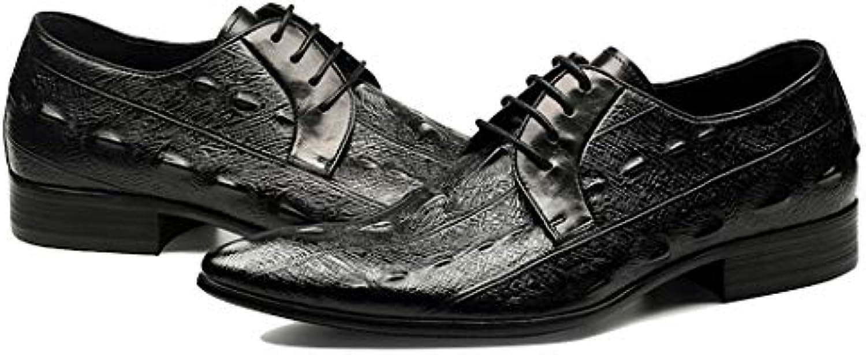 Scarpe Da Uomo In Pelle Abbigliamento A Mano Inghilterra Appuntito Business Scarpe Moda Scarpe Single Appartamento... | Il Prezzo Ragionevole  | Uomini/Donne Scarpa