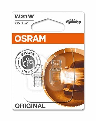 Osram Original Equipment quality W21W-582/382W bulbs in a twin blister pack