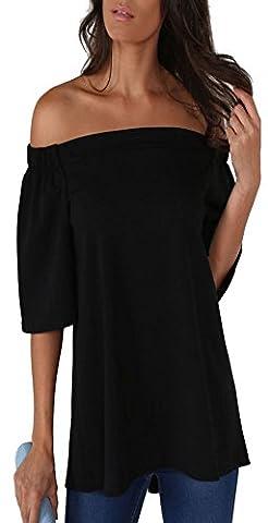 ALAIX - T-Shirt à manches longues - Femme - noir - S