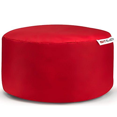 Sit&Joy Sitzkissen Sitzsack Bodenkissen Kissen Kinder-Sitzsack Sitzsack Kinder Bag Chair Rot (Bean Bag Chair Grün)