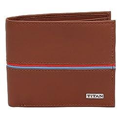 Titan Bifold Coin Pouch Tan Mens Wallet (Tw167Lm2Tn)