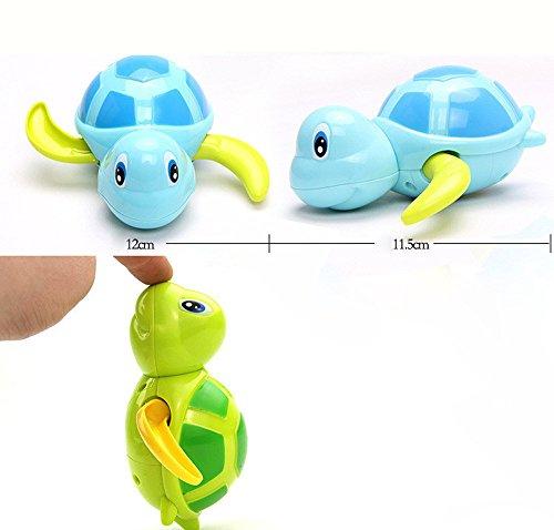 LoveLeiter Tier Schildkröte Klassische Baby Wasser Spielzeug Infant Swim Turtle Wunde up Kette Baby Kids Multi-Typ Wind Up Schildkröte Kette Baden Dusche Clockwork Spielzeug