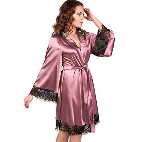 Beikoard Sexy Dessous,Damen Nachthemd Seide Erotische Unterwäsche Desouses Sexy Reizwäsche Kimono Babydoll-Mehrfarbenauswahl