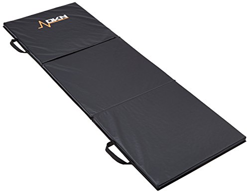 Dkn materassino per allenamento, a 3 sezioni, con maniglie