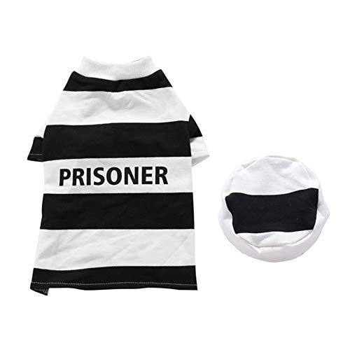 Gefangenen Kostüm Für Hunde - GLOBEAGLE Haustierkostüm, süßes Haustier Hund Welpen