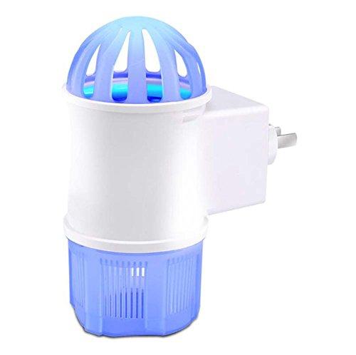 Lámpara LED para matar mosquitos, fotocatalizador doméstico Mosquitto Killer, Bug Zapper, ultra silencioso, sin radiación, sin productos químicos, profesional electrónico, insecticida para interiores,