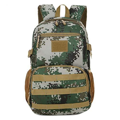 Caflyibag Oxford Stoff Rucksack tragbar Reisetasche Schulrucksack, Damen, Jungle Camo (Reebok Rucksack Rosa)