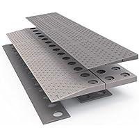 hyseco Mobility rampa para umbral Modular (para altura de 2,5–4cm) 84x 2x 21cm