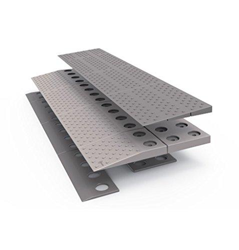 hyseco Mobility Schwelle Rampe Modular (für Höhe von 2,5bis 4cm) 84x 2x 21cm