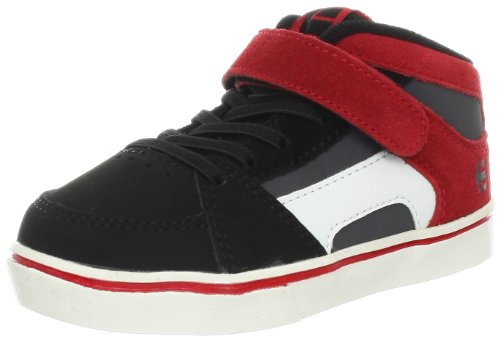 Etnies Rvm Strap Suede Black/Grey/Red 4401000031 5.5 UK Toddler