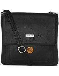 ESBEDA BLACK Color Solid Slingbag For Women