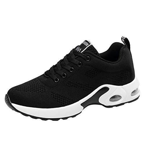 Dragon868 Sneakers Donna Scarpe Da Trekking Scarpe Comode Per Camminare Scarpe Del Ginnastica Traspiranti Scarpe Stringate Running Zeppe