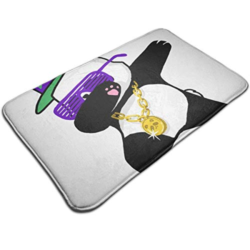 52c8ea76f65d Aeykis Fashion Dabbing Panda Funny.PNG Waterproof Welcome Doormat Funny  Durable Machine Indoor and Outdoor Door Mat 19.2x31.5 Inch
