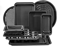 Royalford 6 piece Bakeware Set – Carbon Steel, Oven Safe, Premium Non-Stick Coating, 0.4MM Thick, PFOA, PTFE,