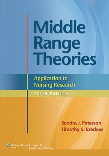 Middle Range Theories Application To Nursing Research