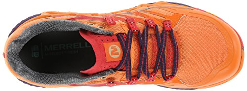 Merrell All Out Peak, Scarpe da Trail Running Donna, Orange Orange