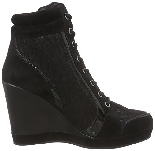 Fornarina PIFTB8997WVC Britt Sneaker, Donna Black 00