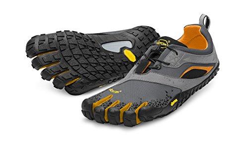 Vibram Five Fingers Spyridon MR, Herren Traillaufschuhe, Mehrfarbig (Grey/Orange), 40 EU