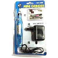 toolscentre Mini molinillo para discos, de molienda, pulido para trabajos de precisión junto con 10Pcs Juego de accesorios.