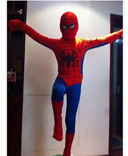Costumi spiderman costumista per adulti costume halloween (colore : red, dimensioni : m)
